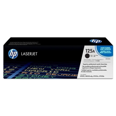 HP Color CM1312, 1215 Black Toner - CB540A