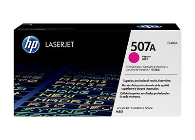 HP 500, M551 Magenta Toner Cartridge - CE403A