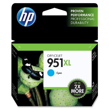 HP 951XL Cyan Ink - CN046AN