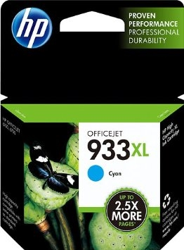HP 933XL Cyan Ink - CN054AN