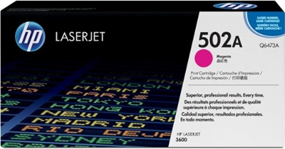 HP Color CP 3505/3600DN Magenta Toner - Q6473A