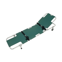 Junkin JSA-604 Easy-Fold Wheeled Stretcher w/ Adjustable Back Rest