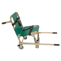 Junkin JSA-800-EHW Evacuation Chair w/ Extended Handles & 4 Wheels