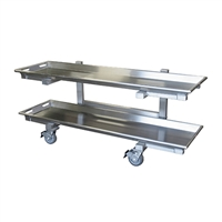 Mortech Model 7020-26 Two Tier Storage Carrier w/ Trays