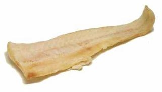 Baccala dried salt cod