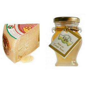 White Truffle Honey and Aged Pecorino Toscano Pairing