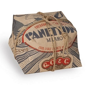 Breramilano ( formerly G. Cova & Co) Traditional Panettone Hand Wrapped