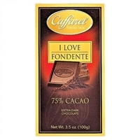 Caffarel 75% Extra Dark Chocolate Bar