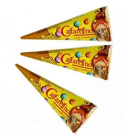 "Caffarel Cones ""Caffarellino"" Gianduia Filled"