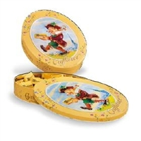 Caffarel Gianduia Chocolates Oval Tin