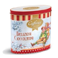 Caffarel Chocolates Vintage Tin