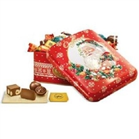 Caffarel Chocolates Christmas Tin