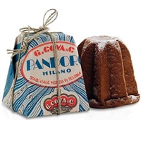 Breramilano (formerly G. Cova & Co) Pandoro Classico Hand Wrapped Italian Christmas Cake 750gr