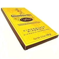 Caffarel Gianduia Chocolate Bar 100gr/3.5oz