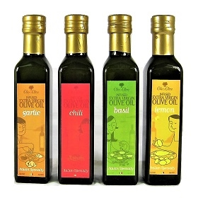 Flavored Extra Virgin Olive Oil Sampler