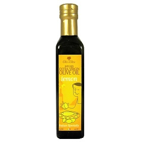 Infused/Flavored Extra Virgin Olive Oil - Lemon 250ml/8.5fl oz