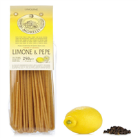 Morelli Wheat Germ Linguine with Lemon and Black Pepper