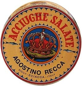 Agostino Recca Anchovies in Salt 800gr.