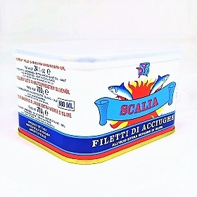 Scalia Anchovy Fillets - 700gr (24.5oz) tin