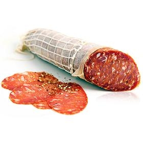 Italian Sopressata Hot Whole Piece (Approx. 7lb)