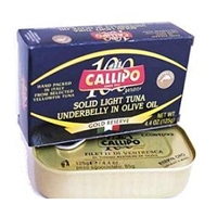 Callipo Ventresca (Soft Part) of Solid Light Tuna - 4.4oz