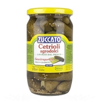 Zuccato Cetrioli Agrodolci Sweet and Sour Pickled Cucumbers