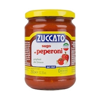 Zuccato Tomato with Bell Peppers Sauce - 350gr