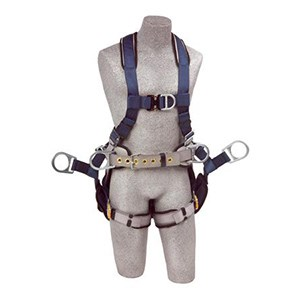 DBI/SALA ExoFit Tower Climbing Vest-Style Full Body Harness 1108650