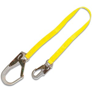 Guardian 01251 WL36R 3 Foot Web Restraint Lanyard With Rebar Snap