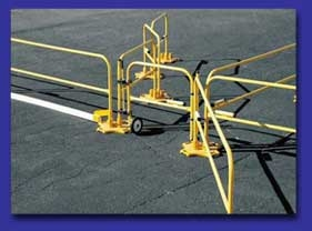 BlueWater 500090 3.5 Foot SafetyRail 2000 Gate Kit