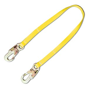 Guardian 01265 WL72 6 foot Web Restraint Lanyard