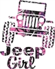 MUDDY GIRL® JEEP GIRL JEEP DECAL