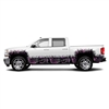 "MOON SHINE CAMO® - CAMO GRASS - EXTENDED CAB WHEEL WELLS & ROCKER PANEL (7 - 21"" x 56"" Tall Grass Pieces) (4 - 9"" x 56"" Small Grass Pieces)"