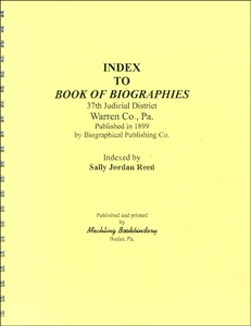 Everyname Index to Book of Biographies/ Warren Co.- Reed