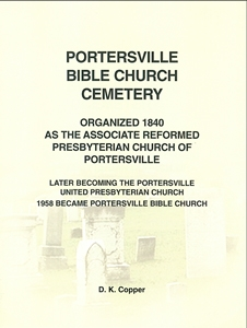 Portersville Bible Church Cemetery, Muddy Creek Twp., Butler Co., PA – Copper