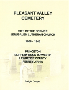 Pleasant Valley Cemetery, Princeton, Slippery Rock Twp., Lawrence Co., PA – Copper