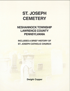 St. Joseph Cemetery, Neshannock Twp., Lawrence Co., PA –  Copper