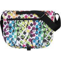 Yak Pak Basic Shoulder Bag - Splatter Checkered