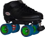 Roller Skates Quad Speed Skates Black Titan