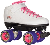 Roller Skates Quad Speed Skates White Titan