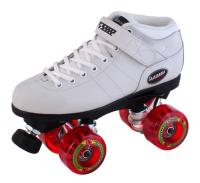 White Outdoor Carrera Skates