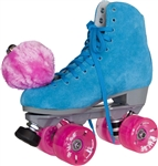 Sure Grip Blue Suede Roller skates