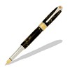 Broadwell Art Deco Rhodium and 22kt Gold Fountain Pen Kit  Item #: PKART3F
