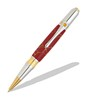 Broadwell Art Deco Gold TN and Chrome Ball Point Pen Kit  Item #: PKART5B