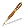 Broadwell Nouveau Sceptre Rhodium and 22kt Gold Fountain Pen Kit  Item #: PKDBFP