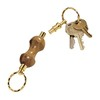 Detachable Key Ring 24kt Gold Keychain Kit  Item #: PKDETACH