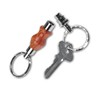 Detachable Key Ring Kit CHROME  Item #: PKDETACHC