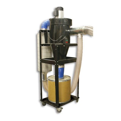 Tempest portable 2hp cyclone dust collector item temp2pcx for Portable dust collector motor blower