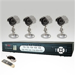 Complete 4-Camera DVR Package