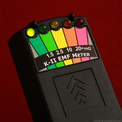 K2 Deluxe EMF Meter With On/Off Switch